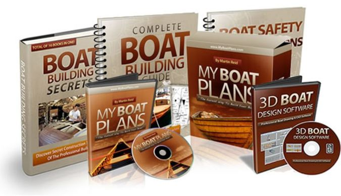500-wooden-boat-building-plans Step-By-Step Boat Plans for Building Your Own Boat