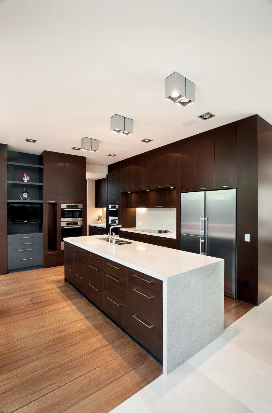 55-Awesome-Modern-Kitchen-Designs-Show-Up-Dining-Area-Awesome-The-Best-Kitchen-Designs Frugal And Stunning kitchen decoration ideas