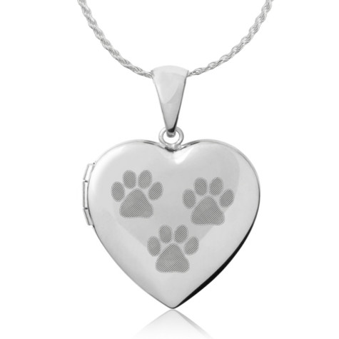 6981-paw-prints-heart-locket-475x475 Dress Your Dog In Jewels