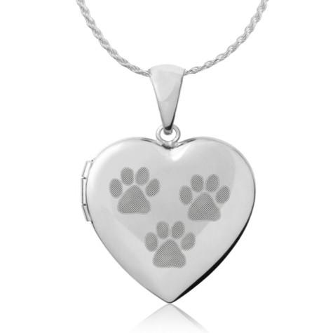 6981-paw-prints-heart-locket-475x475 Dress Your Dog In Jewels
