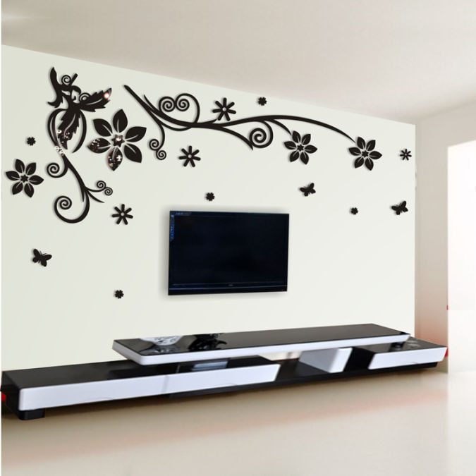 7 Amazing and Catchy Wall Stickers for Home Decoration