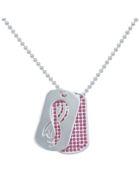76786_32270-breast-cancer-awareness-dog-tags-nc1235_large-475x593 Demonstrate Your Devotion For Breast Cancer And Wear Its Jewelry
