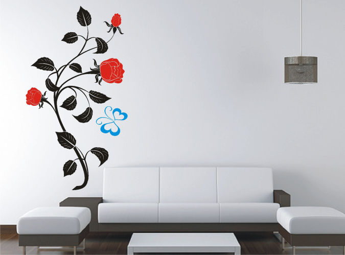 9 Amazing and Catchy Wall Stickers for Home Decoration