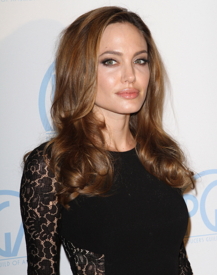 Angelina The Most Famous Celebrities Clothing Brands