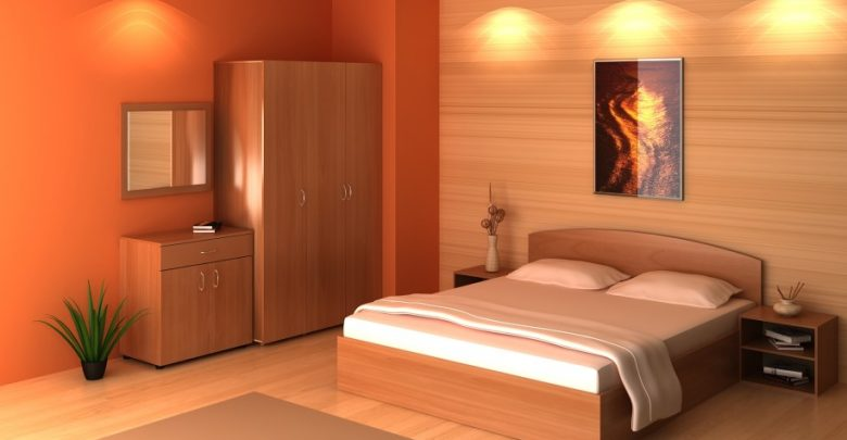 Photo of Fabulous Orange Bedroom Decorating Ideas and Designs