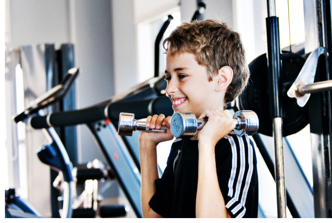 BB-strength-training-kids How to Lose Arm Fat