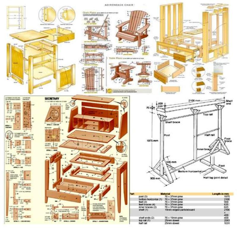 BLUEPRINTS 9000 Inspiring Furniture and Craft Plans