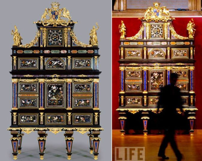 Badminton-Cabinet 10 Most Expensive Antiques Ever Sold