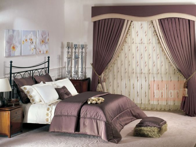 Bedroom-Curtain-Models-Pictures- 20+ Awesome Images for the Latest Models of Curtains