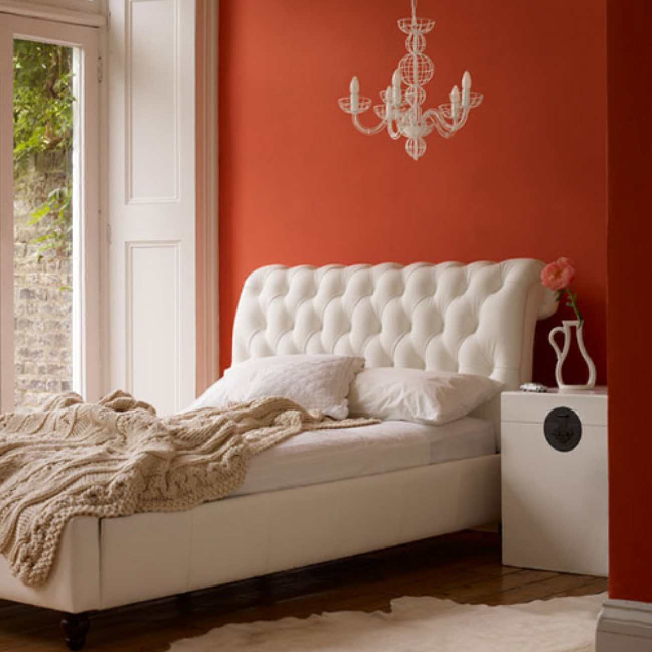 Fabulous Orange Bedroom Decorating Ideas And Designs