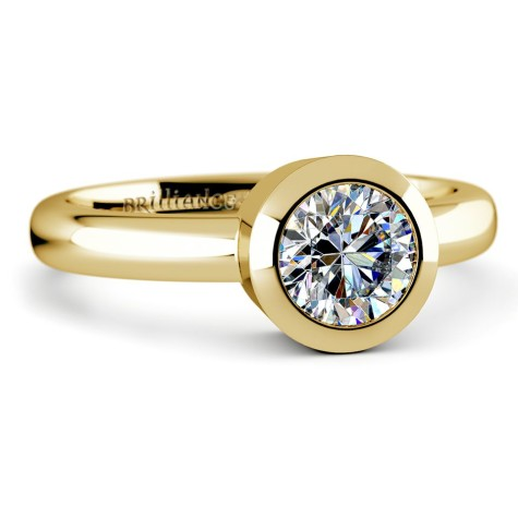 Bezel-Solitaire-Ring-in-Yellow-Gold-475x475 7 Tips to Learn How To Buy Gold?