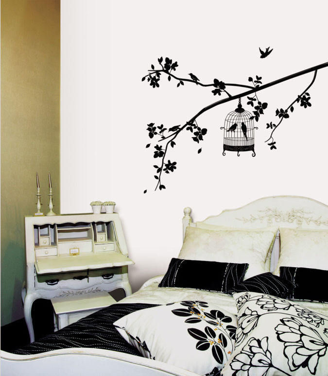 Bird-Tree-Wall-Decal Amazing and Catchy Wall Stickers for Home Decoration
