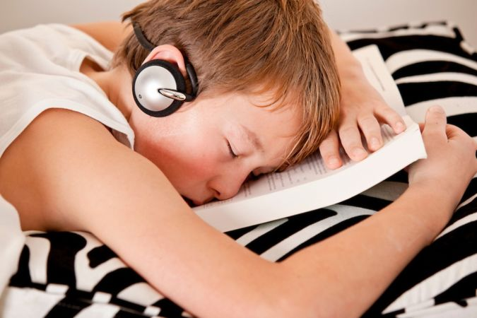 Boy-listening-to-music-while-sleeping Do You Suffer from Insomnia?
