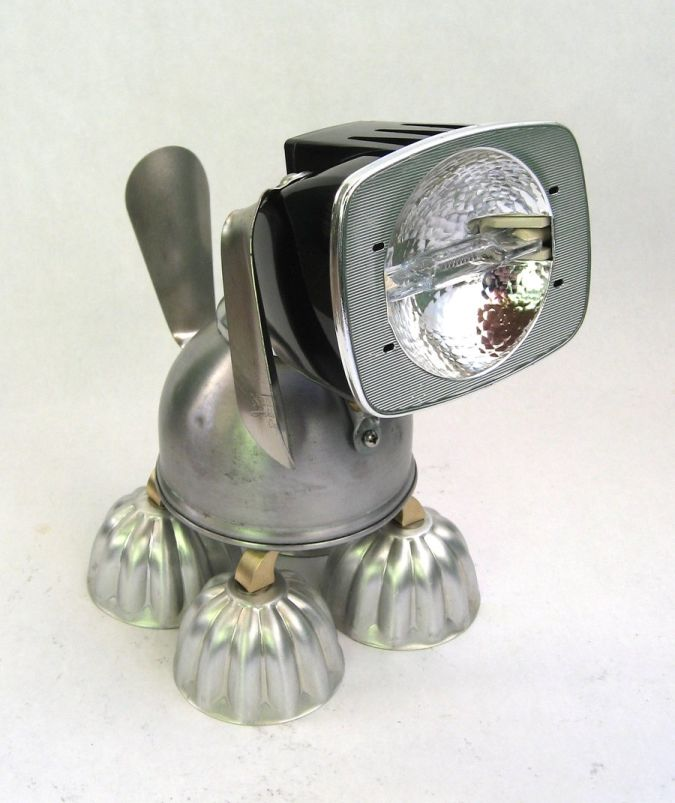 Bushy___Robot_Dog_Sculpture_by_adoptabot 35 Amazing Robo Lamps for Your Children's Room