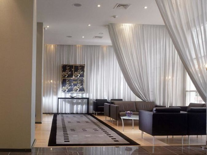 Ceiling-Curtain-Track-for-Elegant-and-Classy-Room 20+ Awesome Images for the Latest Models of Curtains