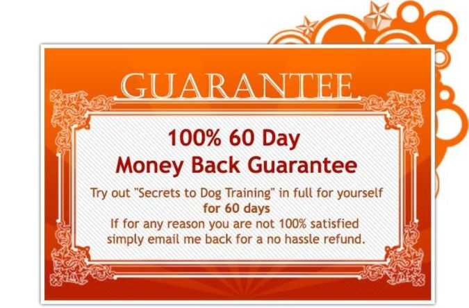 Certificate The Secrets of Training Dogs Are Now Revealed