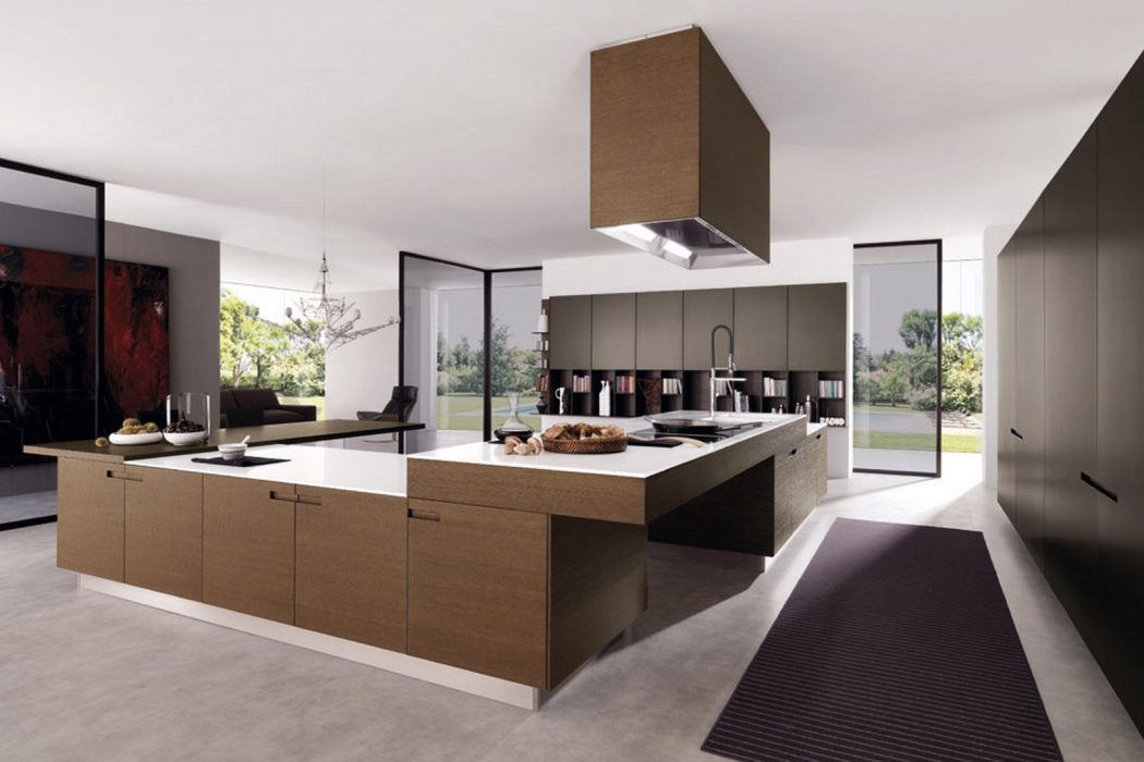 Classic-modern-kitchen-design Frugal And Stunning kitchen decoration ideas