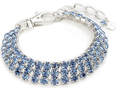 Crystal-Dog-Necklace-CC047-Rhinestone-Pet-Jewelery-Simple-Blue-3-Rows-475x356 Dress Your Dog In Jewels