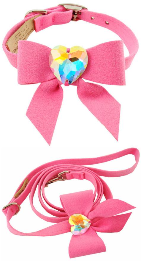 Dog-Collars-C034M2-Fancy-Pet-Collars-Designer-Swarovski-My-Sweet-Bow-Collar-475x876 Dress Your Dog In Jewels
