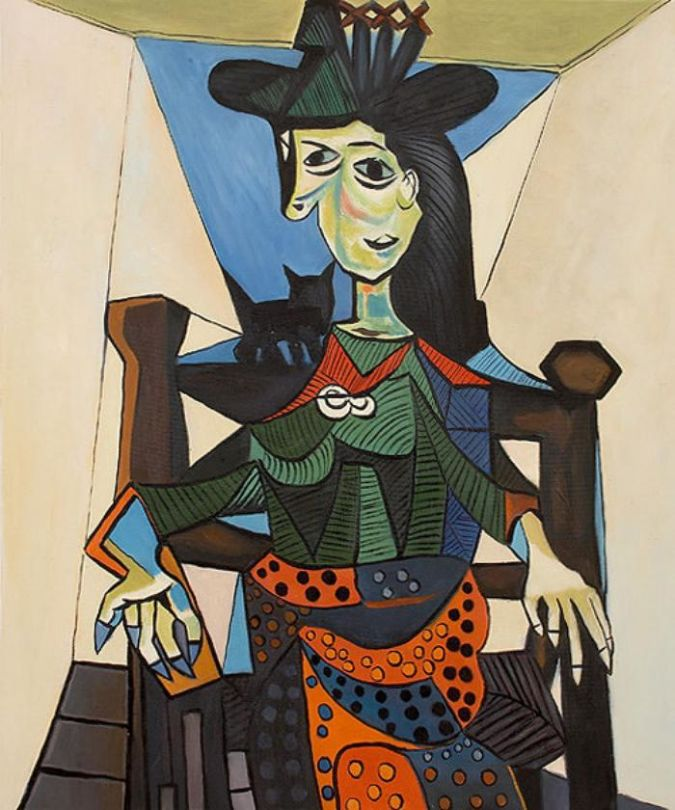 Dora-Maar-au-Chat TOP 10 Most Expensive Paintings in The World
