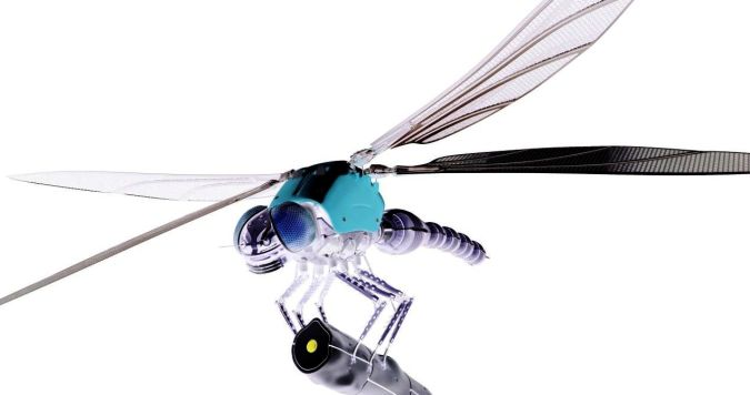Dragonfly-Robot-3D-Insect-Electric-Bluebird How do Robo-Bugs Look Like?