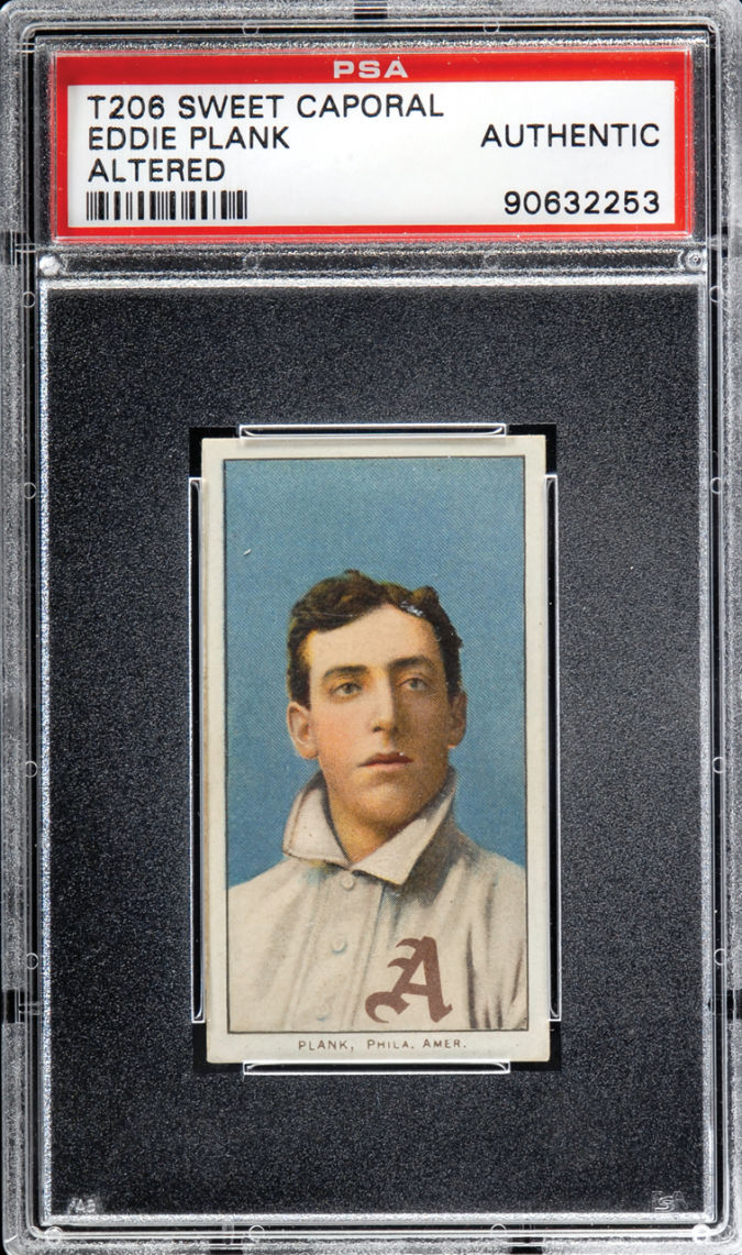 Eddie-Plank List of the World's 10 Most Expensive Baseball Cards