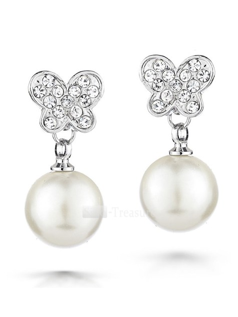 Elegant-Alloy-Platinum-plating-Pearl-Swarovski-Crystal-Diamond-Earrings-4332-7519-475x633 How To Use Earrings With Straight Hair, Tied or with Veil