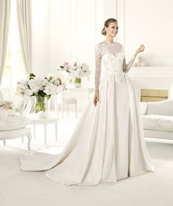 Elie-Sabb-MONET_B-600 70 Breathtaking Wedding Dresses to Look like a real princess
