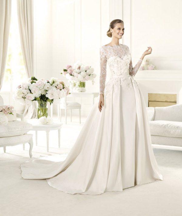 Elie-Sabb-MONET_B-600 70 Breathtaking Wedding Dresses to Look like a real princess