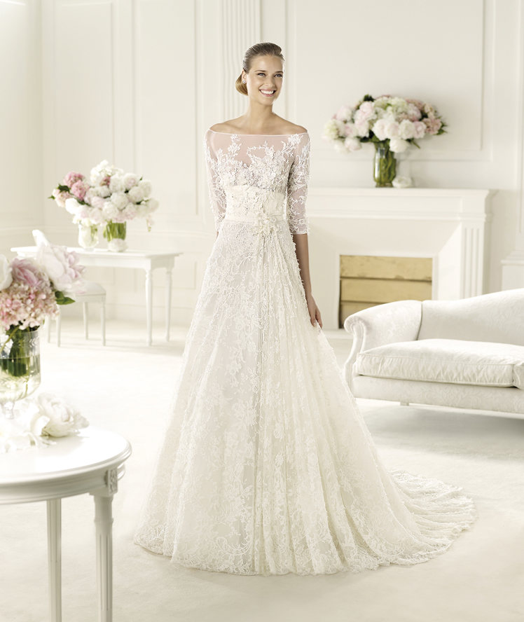FOLIE_B 70 Breathtaking Wedding Dresses to Look like a real princess