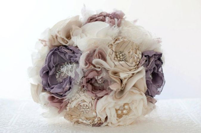 Fabric-Flowers 23 Most Creative Handmade Gift Ideas