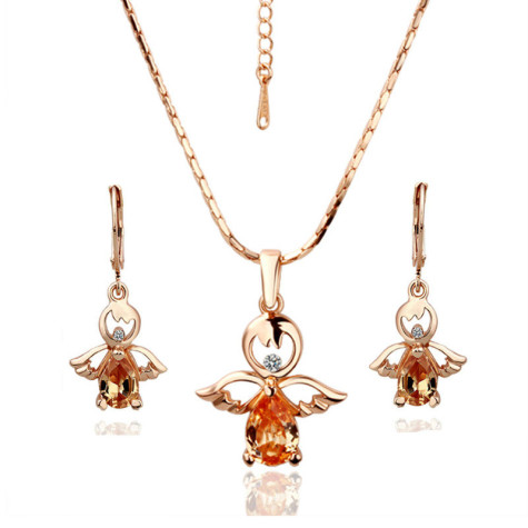 Fashion-Cheap-18k-font-b-Rose-b-font-Gold-Angel-Jewelry-Set-Earring-Necklace-font-b-475x475 7 Tips to Learn How To Buy Gold?