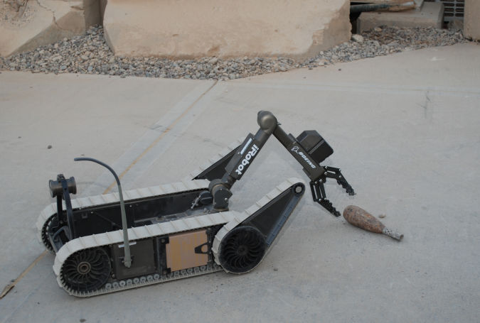Flickr-The-U.S-Army-iRobot-PackBot Which Robots Do We Use in Military Applications?