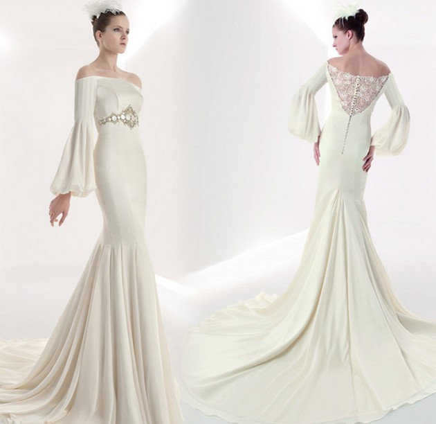 Franc-Sarabia-2010-Wedding-Gown-Collection2_original 70 Breathtaking Wedding Dresses to Look like a real princess