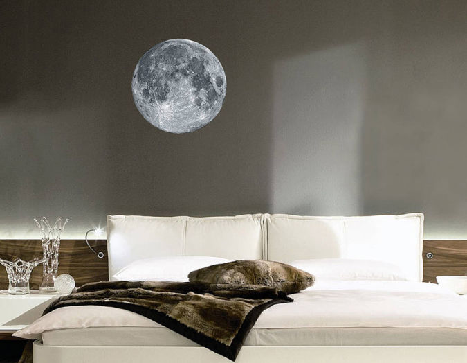 Full-Moon-Wall-Sticker Amazing and Catchy Wall Stickers for Home Decoration