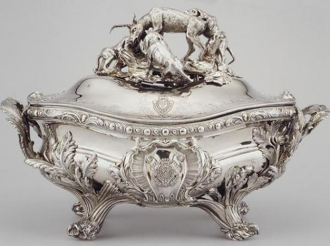Germain-Royal-Soup-Tureen 10 Most Expensive Antiques Ever Sold