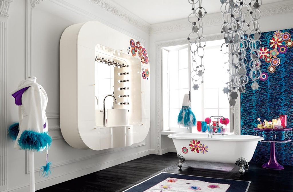 Glamour-Bedroom-Design-by-Altamoda_2 Girls' Bedroom Decoration Ideas and Tips
