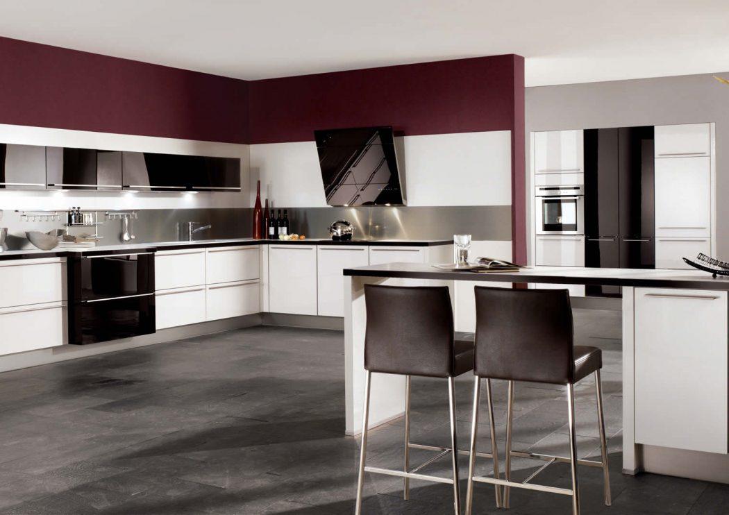 Glassline-White-Ultra-High-Gloss-Kitchen-Design Awesome German Kitchen Designs