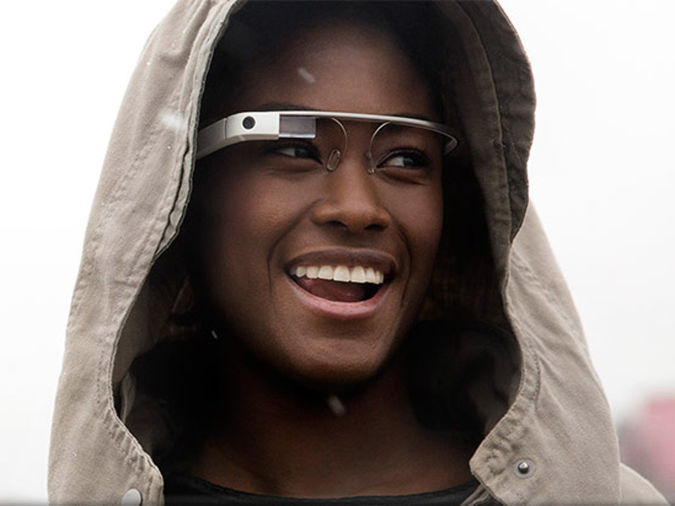 Google-Glass Google glasses capture images with winking
