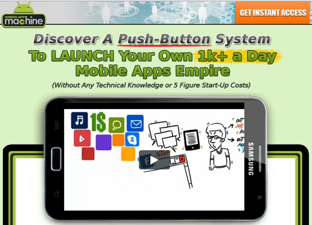 Green_App_Machine How Green App Machine Will Automate Building Your Own Mobile Apps Without Any Technical Knowledge