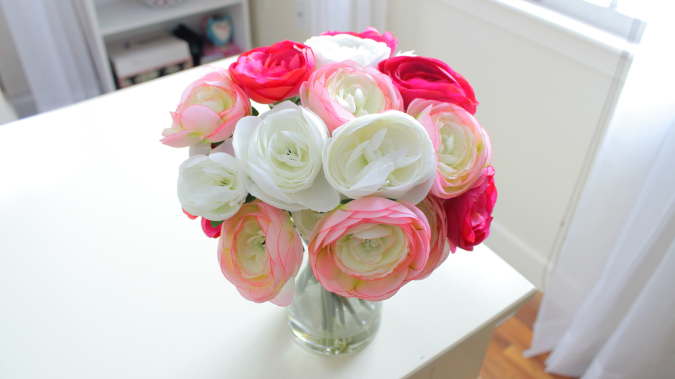 Home-Decor-Haul7 How to Decorate Your Home Using Flowers