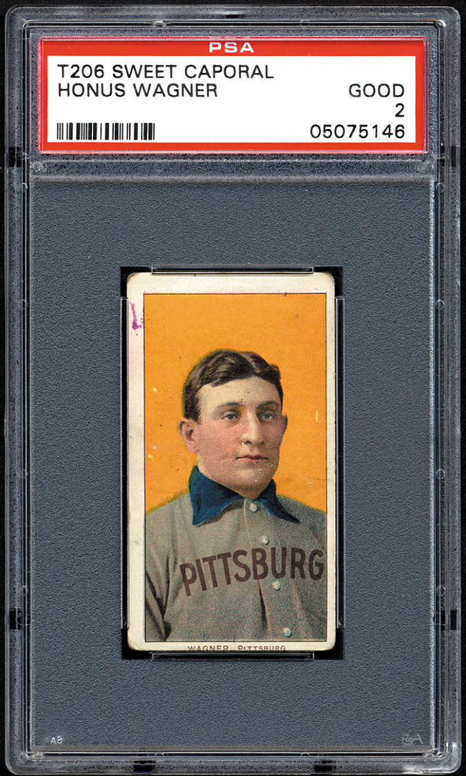 Honus-Wagner-2.8m List of the World's 10 Most Expensive Baseball Cards