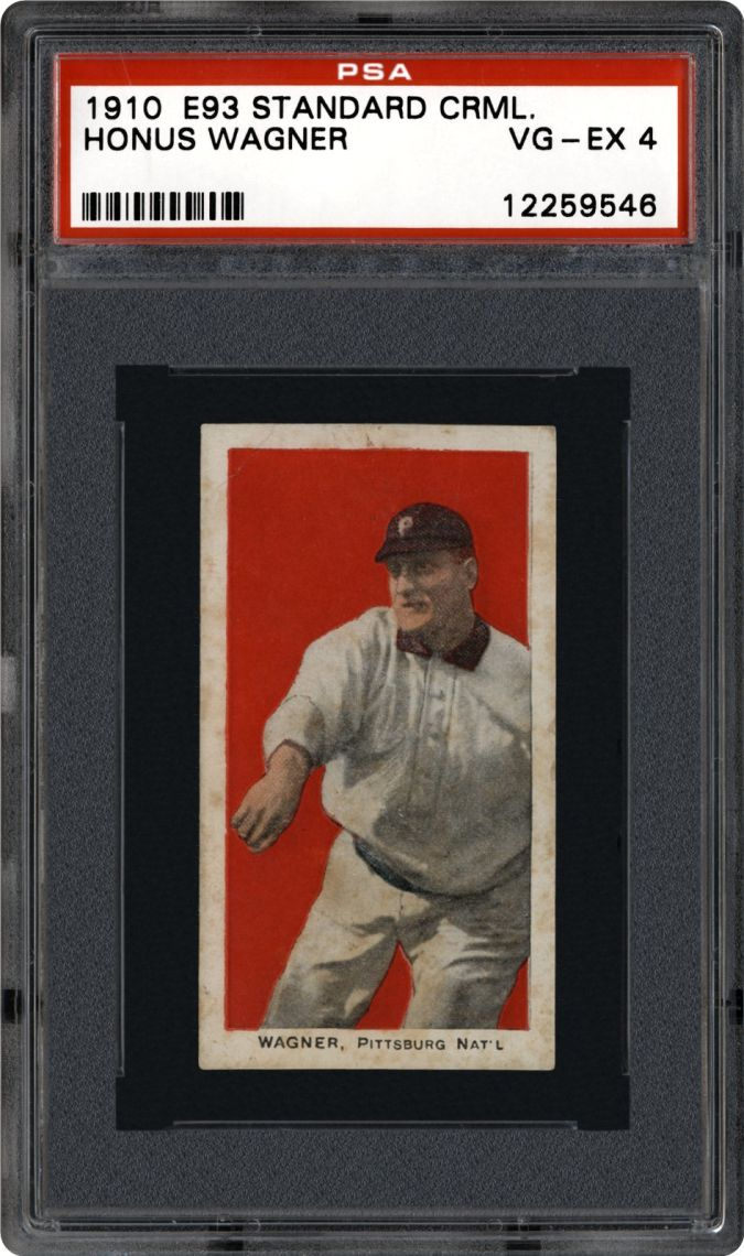 Honus-Wagner List of the World's 10 Most Expensive Baseball Cards