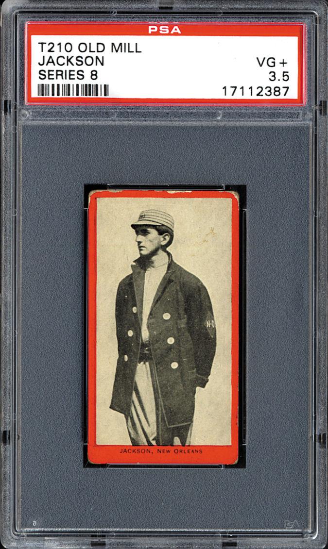 Joe-Jackson-9 List of the World's 10 Most Expensive Baseball Cards