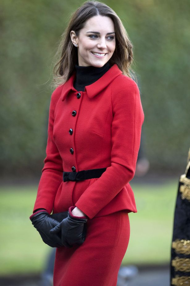 Kate+Middleton+visits+the+University+of+St The Most Famous Celebrities Clothing Brands