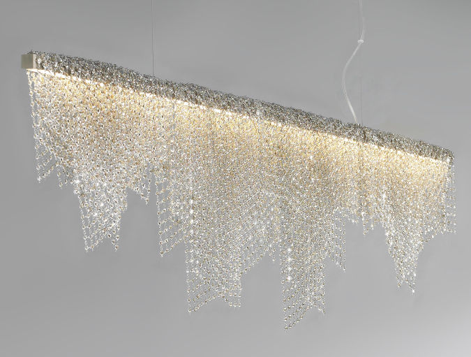 LBL-Mademoiselle-suspension-Gold Awesome and Dazzling Suspended Ceiling Decorations