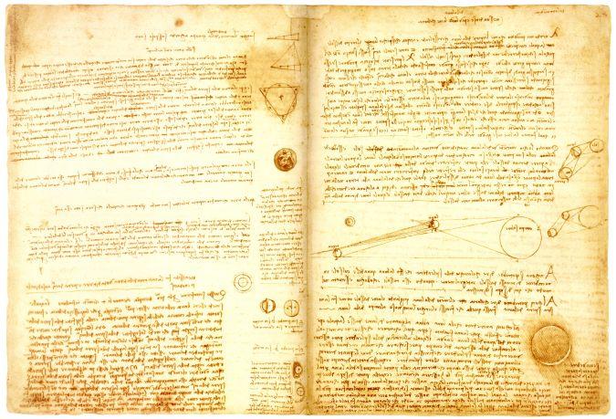 Leonardo-da-Vincis-Codex-Leicester 10 Most Expensive Antiques Ever Sold