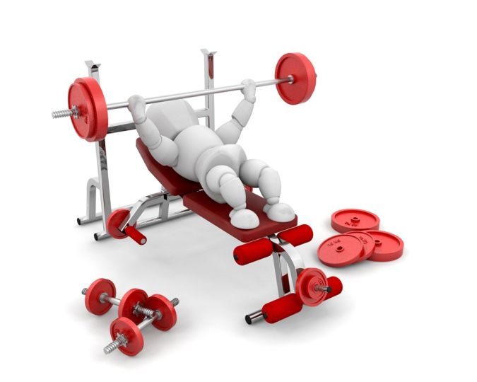 Lifting-Weights-Stock How to Lose Arm Fat