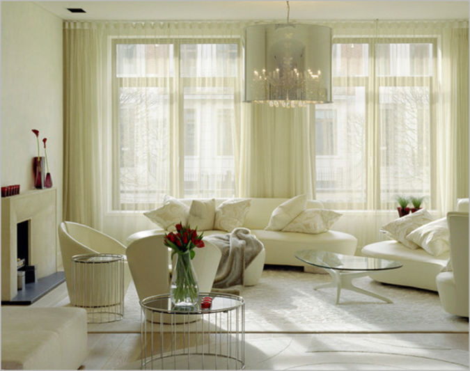 Livingroom-Curtain-Ideas-modern 20+ Awesome Images for the Latest Models of Curtains