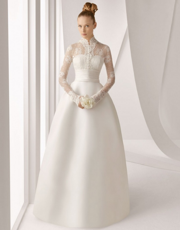Long-Sleeve-Wedding-Dresses-2013-g 70 Breathtaking Wedding Dresses to Look like a real princess